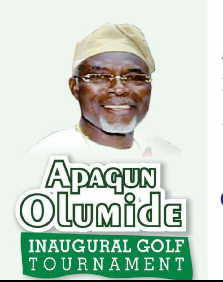 Abeokuta Golf Club To Host Apagun Olumide Inaugural Tournament